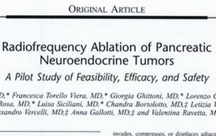 Radiofrequency Ablation of Pancreatic Neuroendocrine Tumors